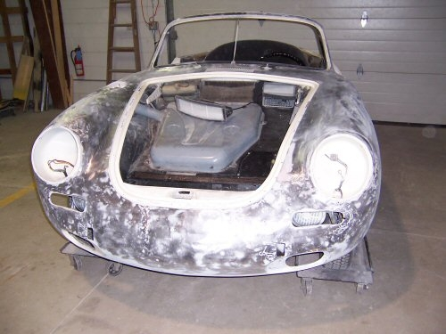 1964 Porsche 356 Cabriolet | Paintwerks Custom & Restoration Refinishing