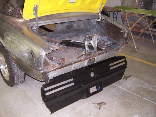 1968 Pontiac Firebird   Paintwerks Custom & Restoration Refinishing