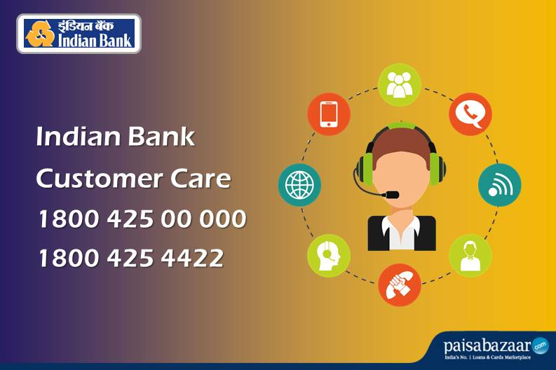 Indian Bank Customer Care 24x7 Toll Free Number