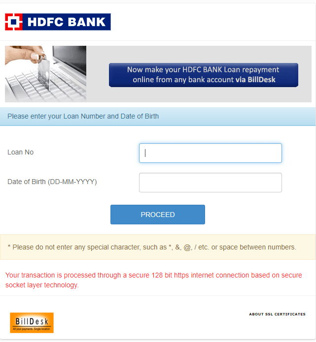 Hdfc Personal Loan Payment How To Pay Online