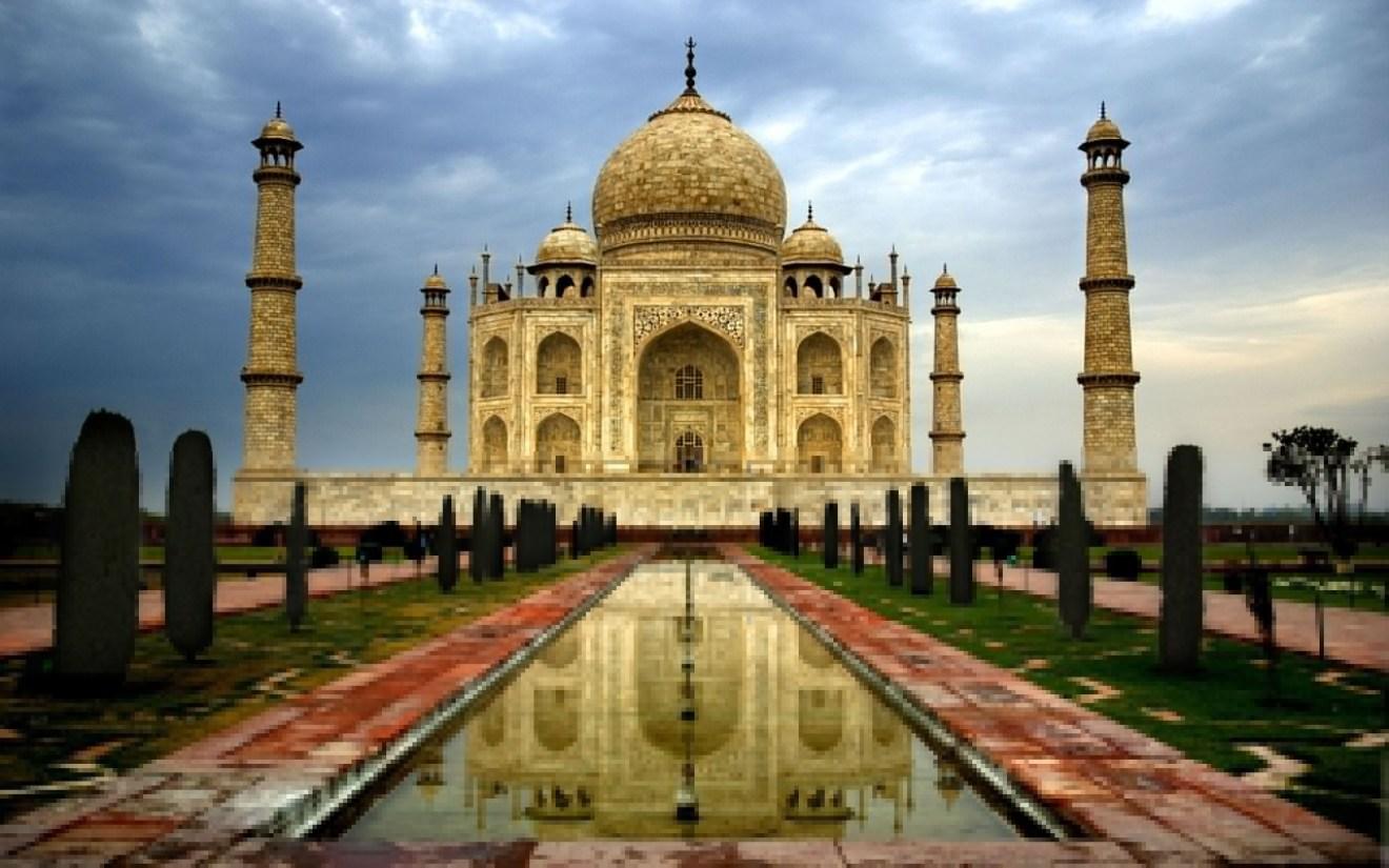 The glorious Taj Mahal