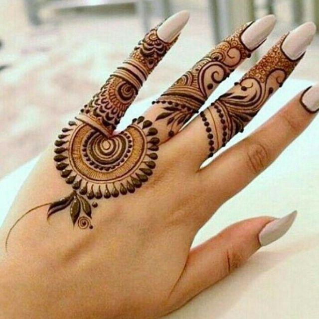 Tattoo Mehndi Design