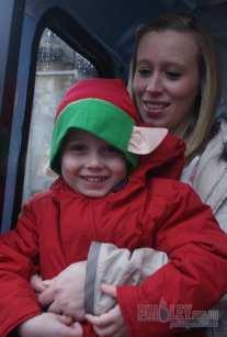 Paisley Photographs of the Santas Parade 2012