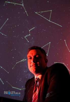 new digital planetarium at Coats Observatory