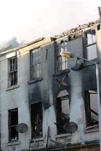 George Pub Fire