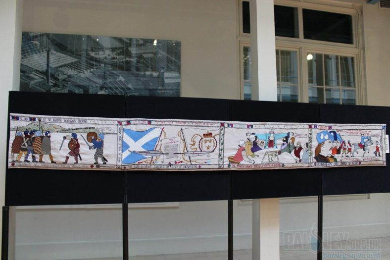 Battle of Prestonpans Tapestry
