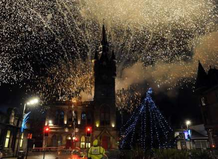 Renfrew Xmas lights