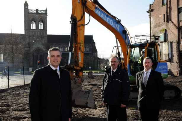 Arnotts new flats work starts
