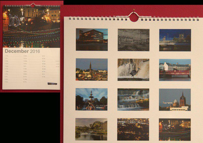 Finished Calendar 20164