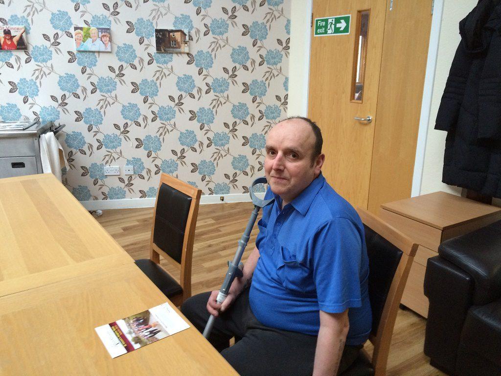 Day Hospice attendee Stewart MacKay