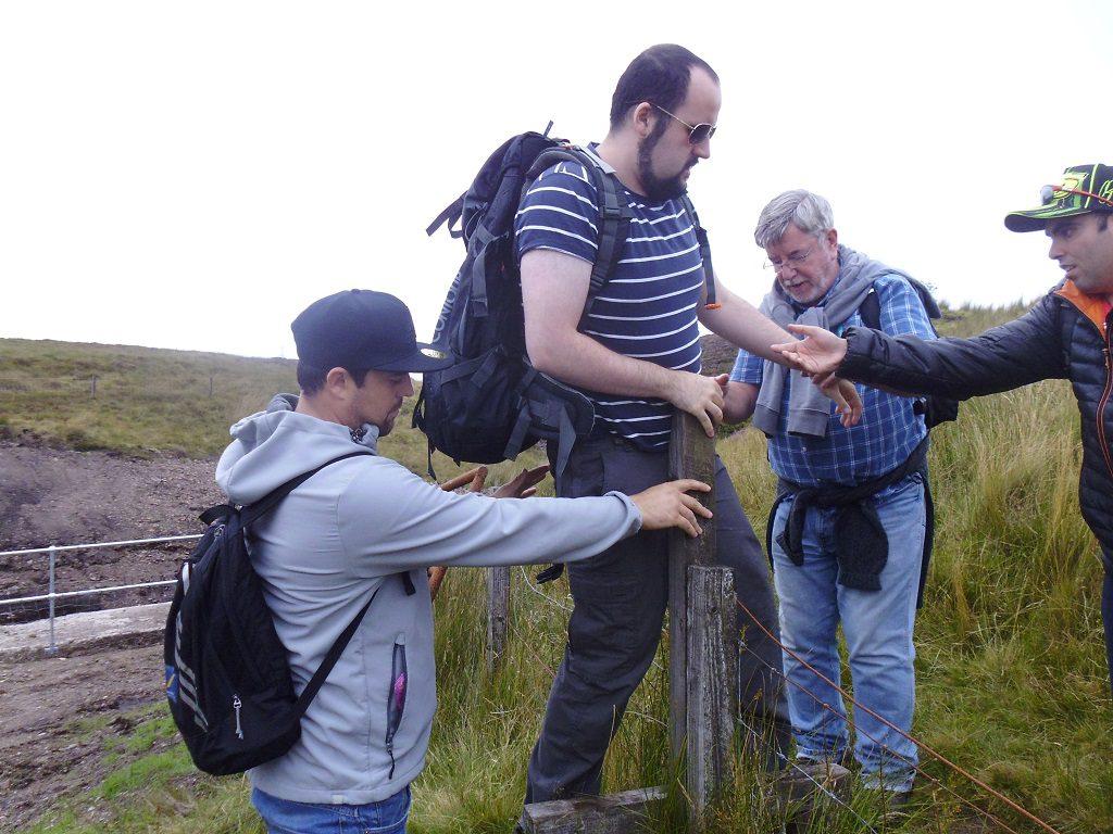 Steven James on a Duke of Edinburgh expedition