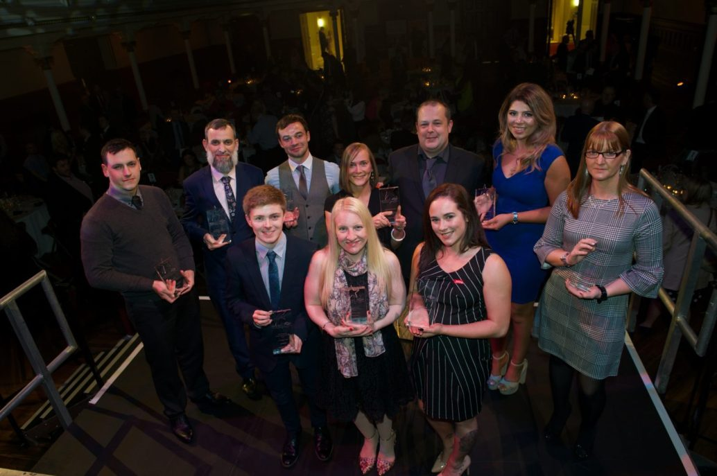RDC Invest awards 6.9.17 Celebrating Success Renfrewshire Employability Awards 6.9.17 Paisley Town Hall