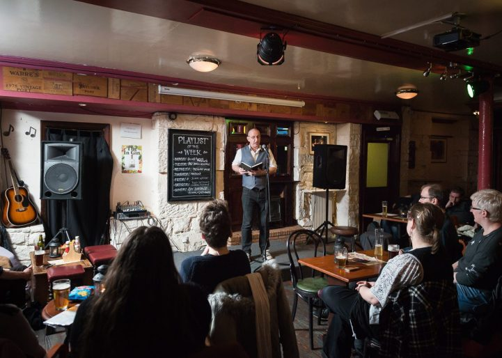 To Absent Friends poetry night