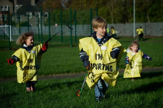 Litter Pick at Knockhill Park 2.11.17
