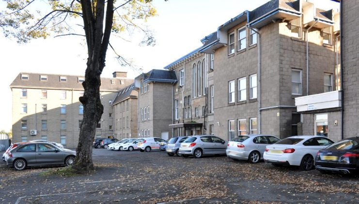 Rear Car Parking Mirren Court