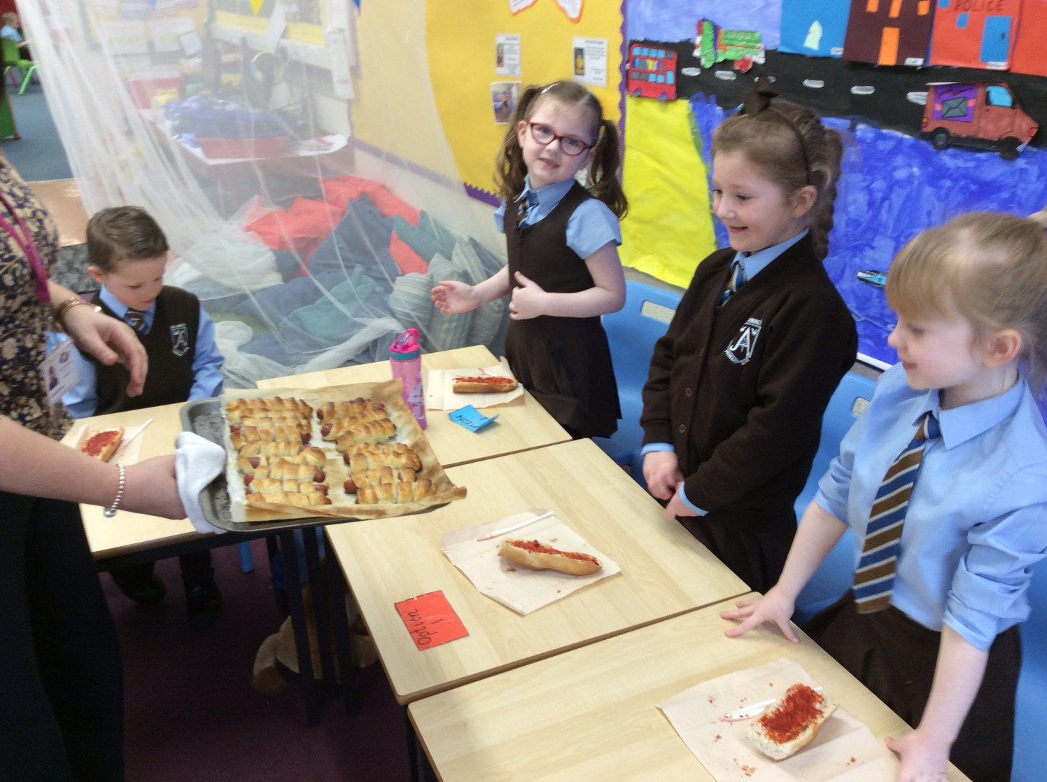 St Anne's - food technology