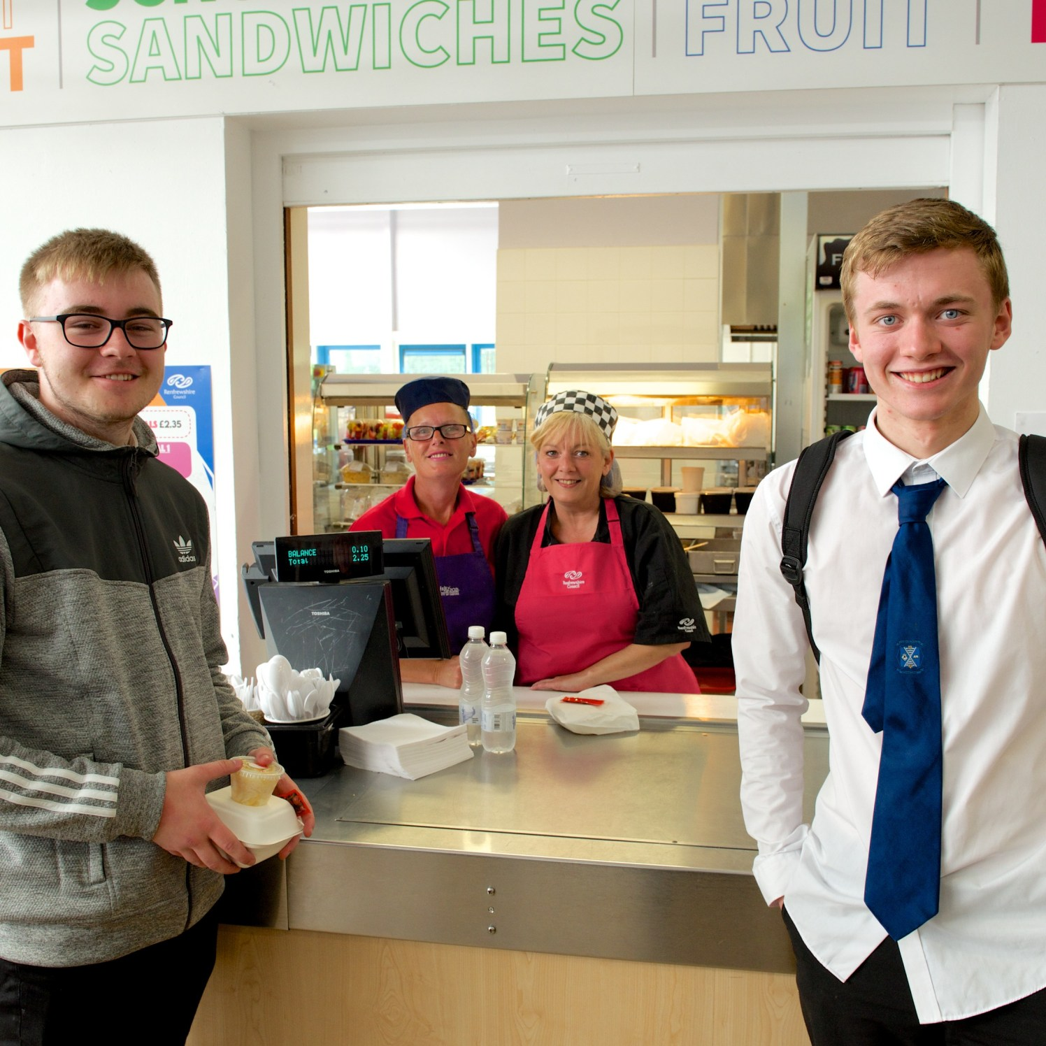 Healthy eating at Johnstone High School 20.6.18