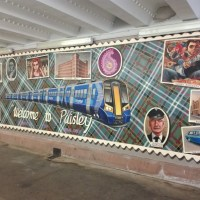 Call out for artists for second mural at Paisley Gilmour Street