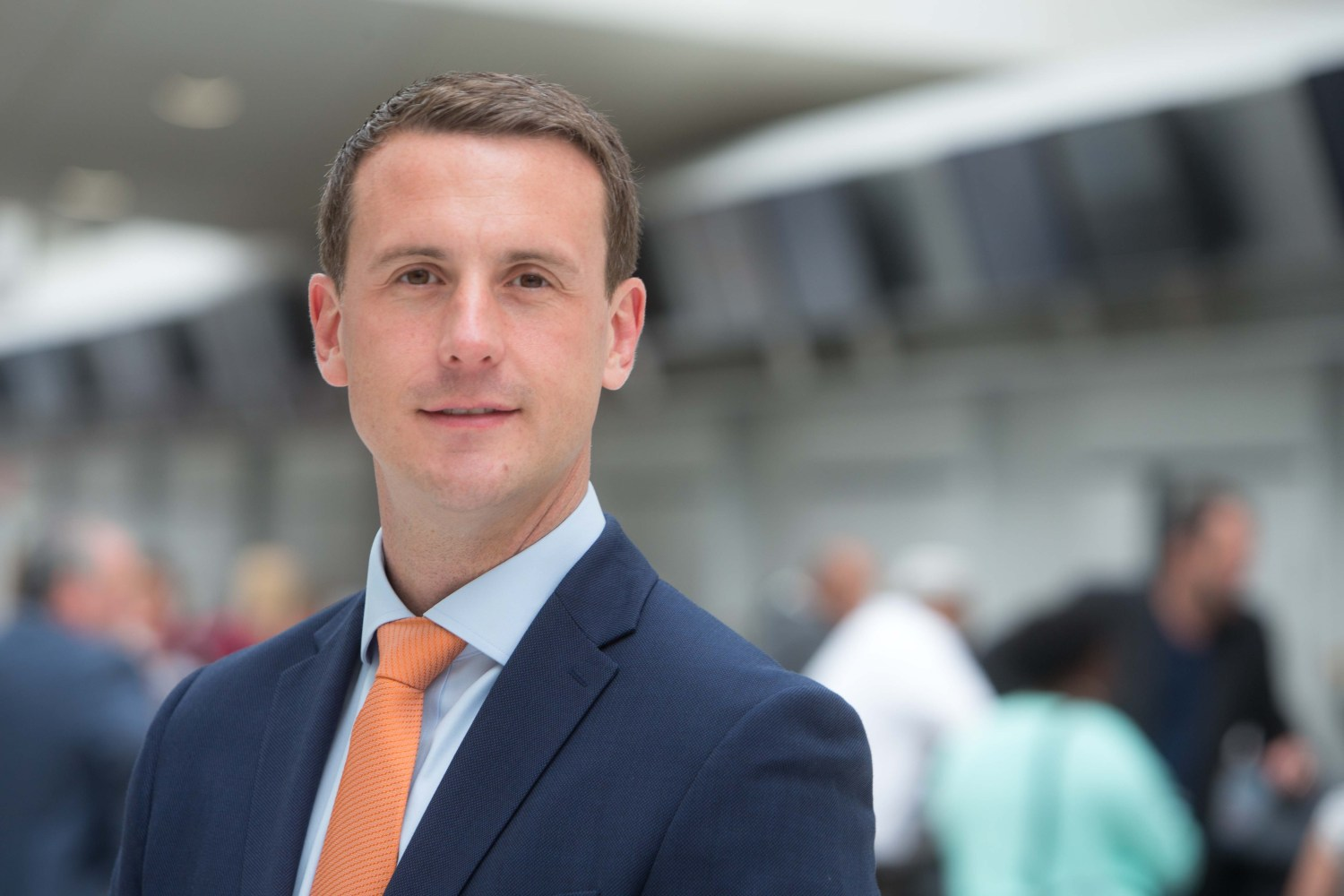 Glasgow Airport Managing Director Mark Johnston