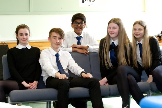17 May 2018 - YOYP mental health - Trinity High pupils at the wellbeing base - JCON (2)