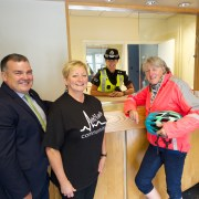 Hand over of Johnstone Police station to community groups 20.8.18