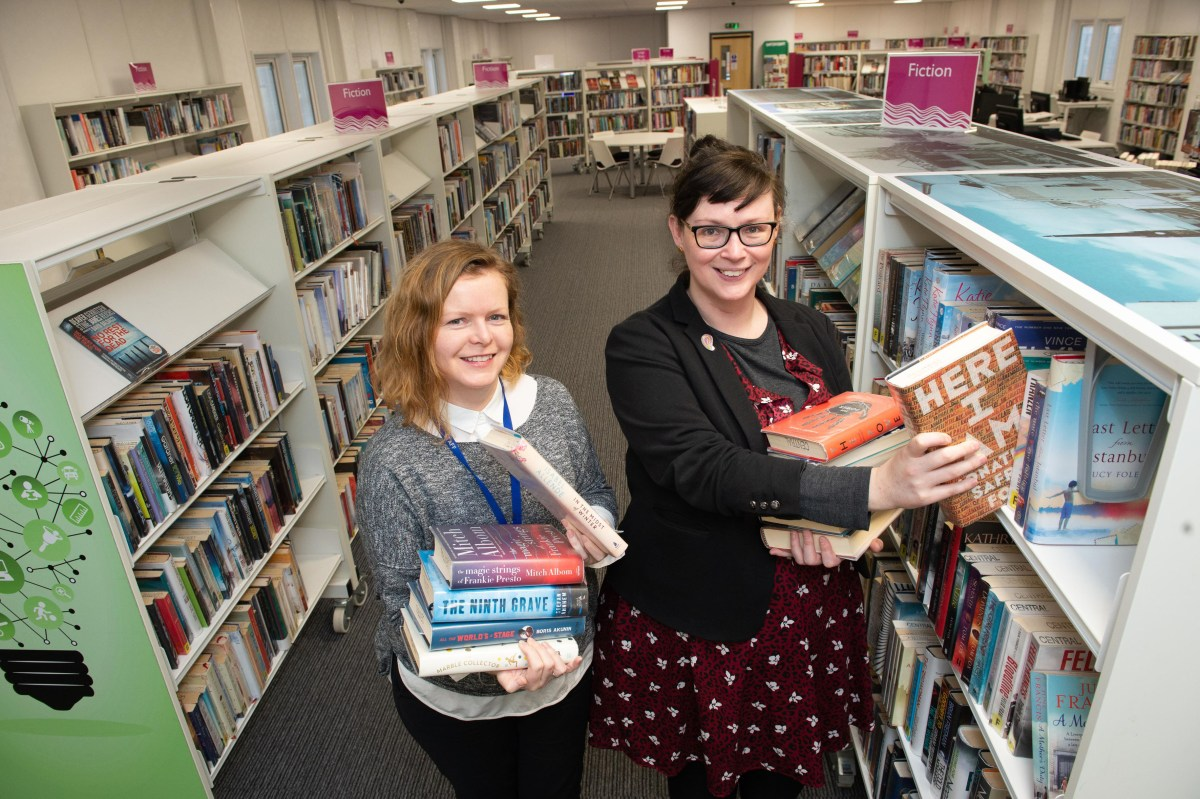 Book in to new library in Paisley