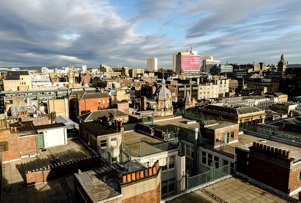 glasgow rooftops