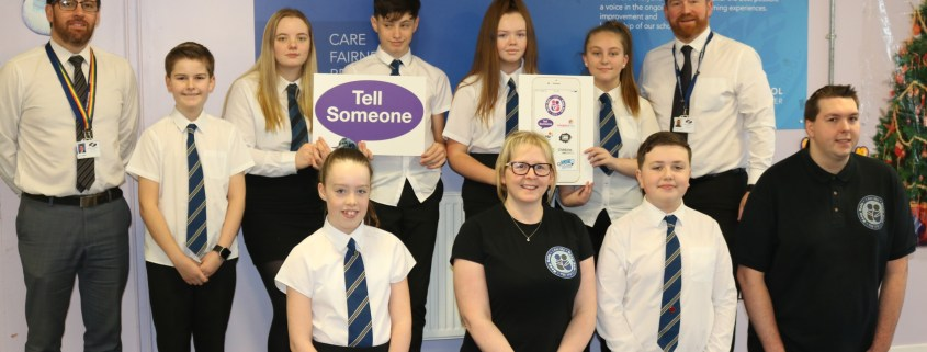 I AM ME - Keep Safe Kids App - Renfrew High - Group shot - 16 December 2019 (2)