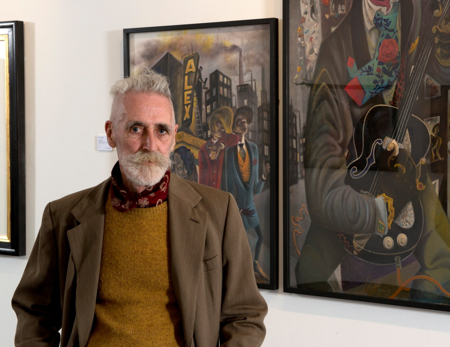 John Byrne's Big Birthday Bash - image courtesy of The Fine Art Society