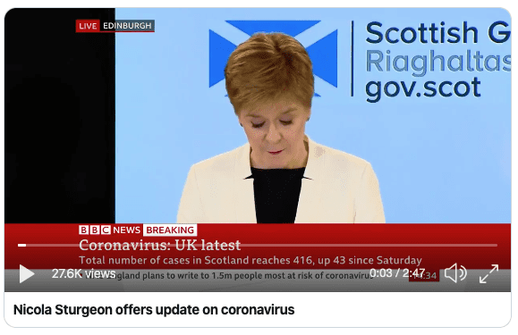 first minister