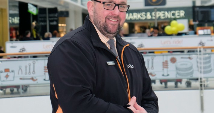 """A security staff manager at intu Braehead is in the running for a top national award. Stephen Stronach, 36, from Linwood, Renfrewshire is one of three students who have been shortlisted for the Chartered Management Institute Student of the Year Award. He has recently passed his Level 8 Award in Management and Leadership as a mature student after intu Braehead paid for a lecturer from West College Scotland to visit the centre to give lectures to a dozen security staff. Stephen, a security duty manager, who has worked at intu Braehead for 14 years explains: """"I've never had any further education qualifications before and it's been great learning the theory behind the things we do on a day-to-day basis. """"I really appreciate the opportunity the company has given me and I'm sure having this qualification will help me develop my career."""" Peter Beagley, intu Braehead centre director said: """"Stephen has studied hard to get this management and leadership qualification and his dedication has been recognised by the fact he has been shortlisted for this CMI Student of the Year Award. It's a fantastic achievement."""" The Chartered Management Institute is the UK's only chartered professional body dedicated to promoting the highest standards in management and leadership excellence. The outright winner of the Student of the Year Award is due to be announced next week."""