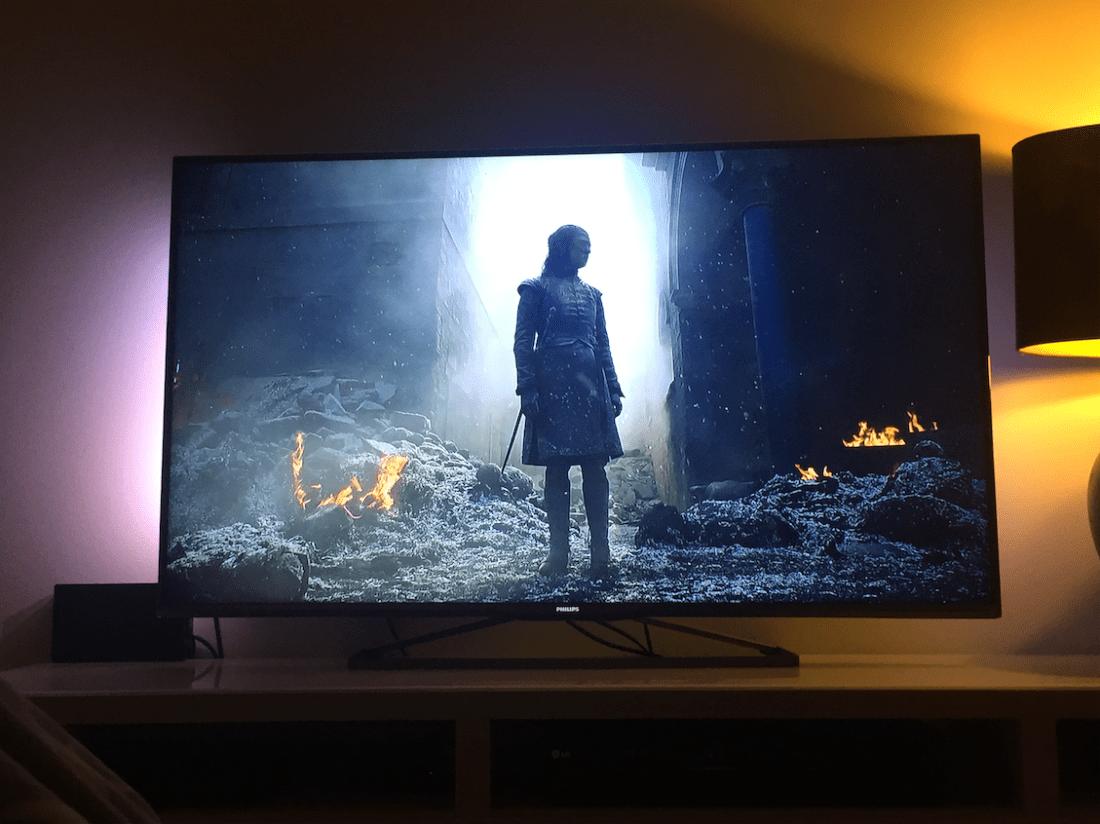 TV snapshot of Arya - Game of Thrones