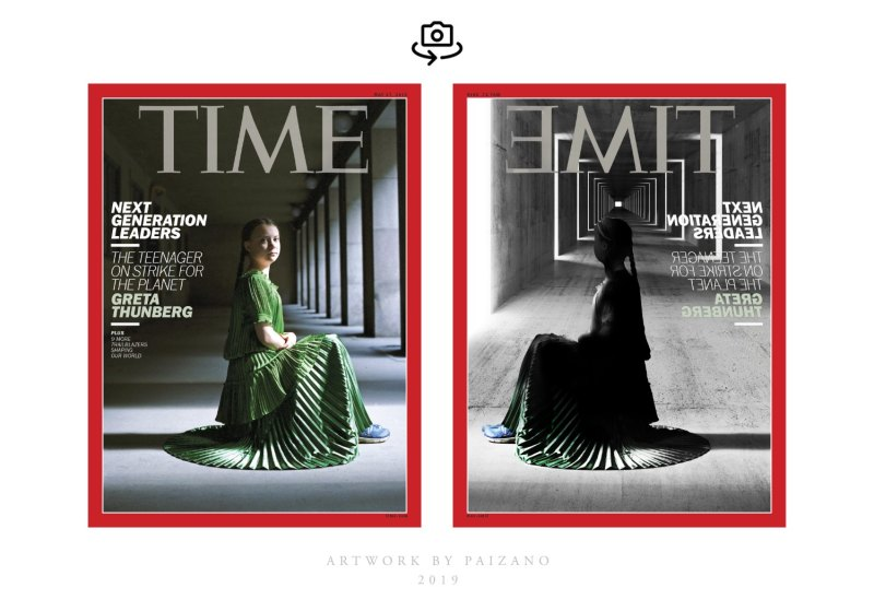 Time Magazine Greta Thunberg cover