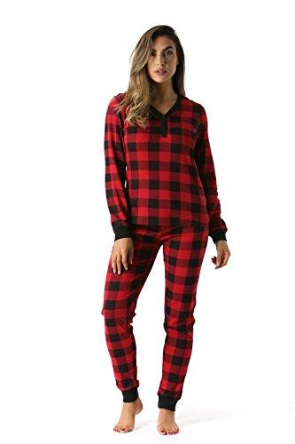 Size XS-XL Leveret Women/'s Rainbow Fitted Pajama Set 100/% Cotton