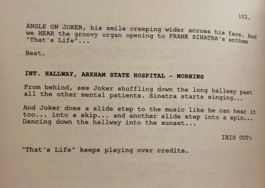 'Joker's Script Offers An Alternate Ending For Sophie