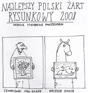Najlepszy jokes rysunkowy roku 2008