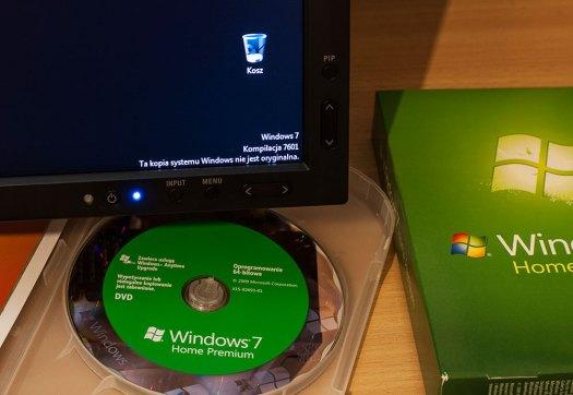 Ta kopia systemu Windows nie jest oryginalna