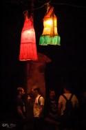 Świecące sukienki na Żmigrodzie.