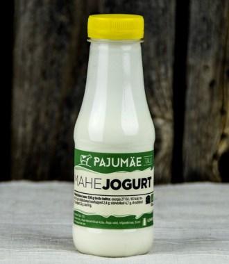 organic yoghurts