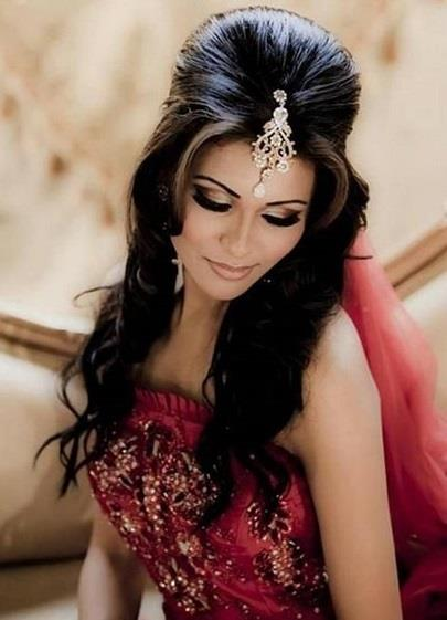 Latest And New Eid Hair Styles 2014 For Women