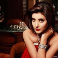 Mawra Hocane in red dress