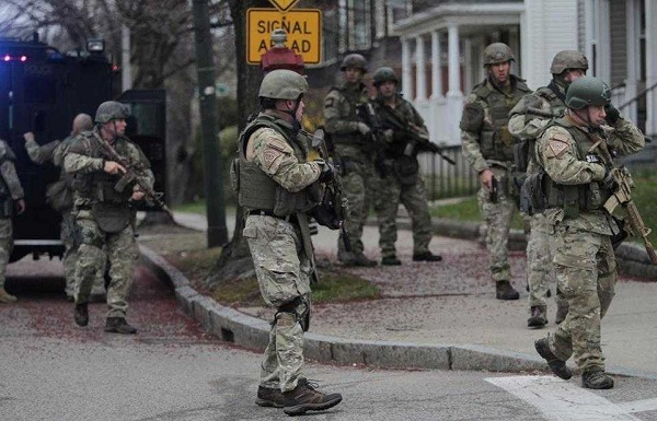The Three Stages of US Martial Law