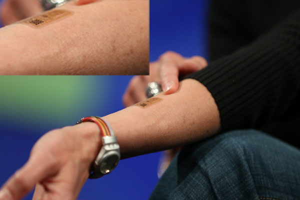 VIdeo - DARPA and Google 'Wearing electronic tattoos for is cool'
