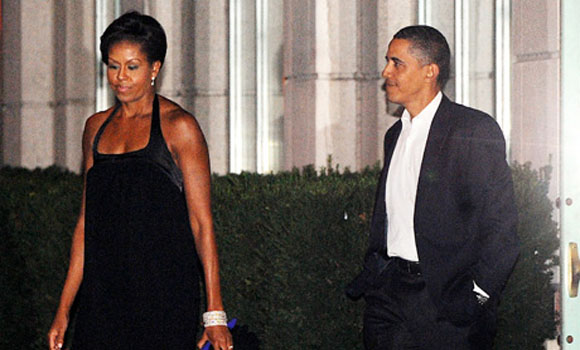 Barack and Michelle's family life is falling apart