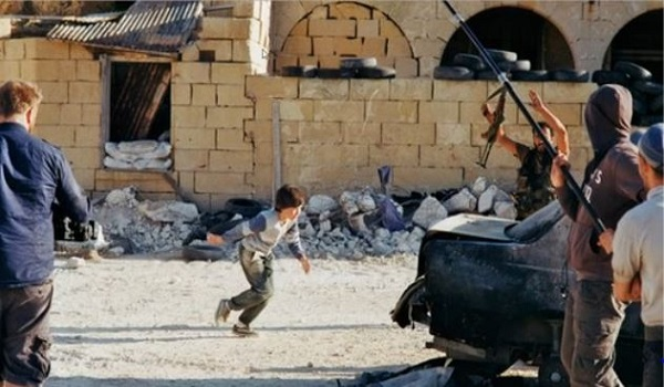 BUSTED NATO Using Fake Viral Syrian Hero Boy Video To Invade Syria