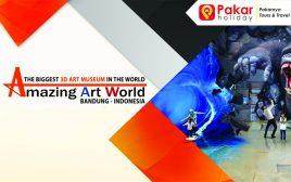 HARGA TIKET PROMO MURAH AMAZING ART WORLD BANDUNG