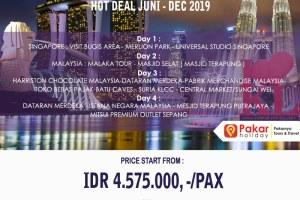 OPEN TRIP PAKET TOUR SINGAPORE-MALAYSIA 4D3N DARI BANDUNG DAN JAKARTA