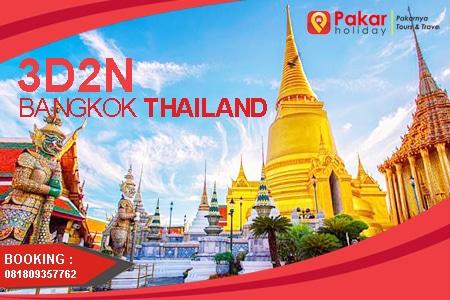 aket Tour Bangkok Thailand Murah