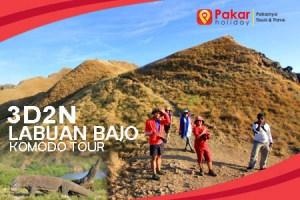 Paket Tour Murah Labuan Bajo + Komodo Tour  3d2n