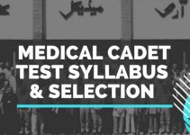 Army Medical cadet Test